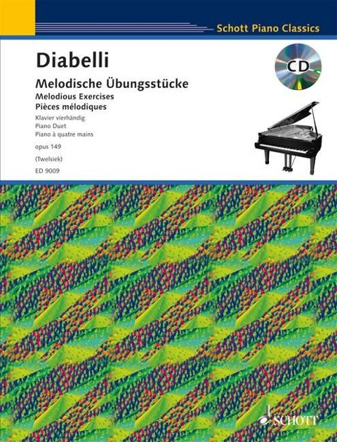Melodische Übungsstücke - Anton Diabelli