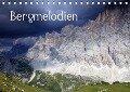 Bergmelodien (Tischkalender 2019 DIN A5 quer) - Gerhard Albicker
