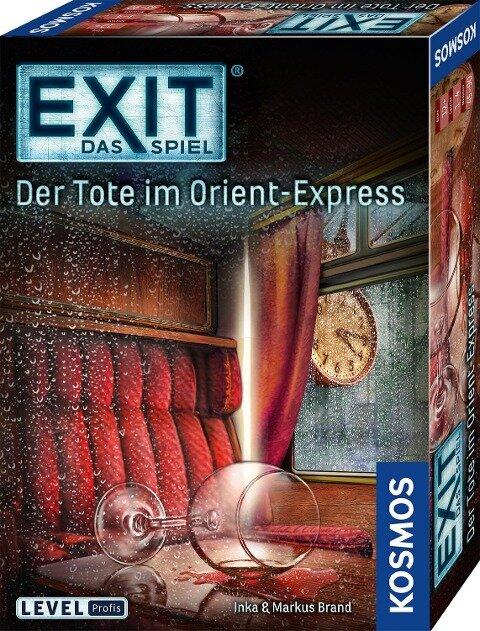 EXIT - Der Tote im Orient-Express - Inka Brand, Markus Brand