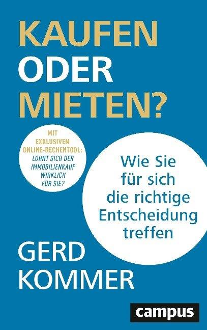 Kaufen oder Mieten? - Gerd Kommer