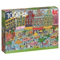 Großer Markt, Brüssel - 1000 Teile Puzzle -