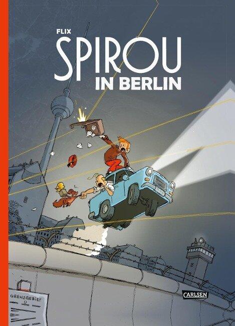 Spirou und Fantasio Spezial: Spirou in Berlin - Flix