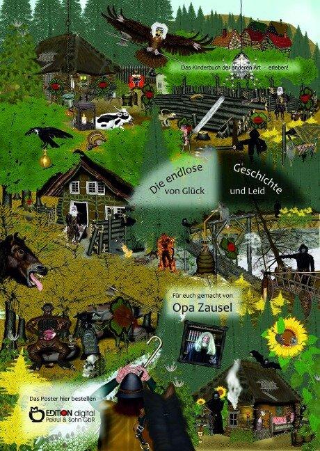 Poster zur endlosen Geschichte von Glück und Leid - Opa Zausel