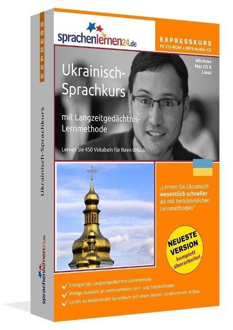 Sprachenlernen24.de Ukrainisch-Express-Sprachkurs. PC CD-ROM für Windows/Linux/Mac OS X + MP3-Audio-CD für Computer /MP3-Player /MP3-fähigen CD-Player -