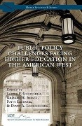 Public Policy Challenges Facing Higher Education in the American West -