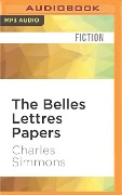 BELLES LETTRES PAPERS M - Charles Simmons