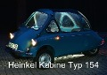 Heinkel Kabine Typ 154 (Posterbuch DIN A3 quer) - Ingo Laue