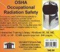 OSHA Occupational Radiation Safety -