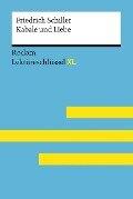Lektüreschlüssel XL. Friedrich Schiller: Kabale und Liebe - Bernd Völkl