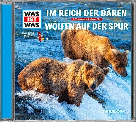 Was ist was Hörspiel-CD: Bären/ Wölfe - Matthias Falk