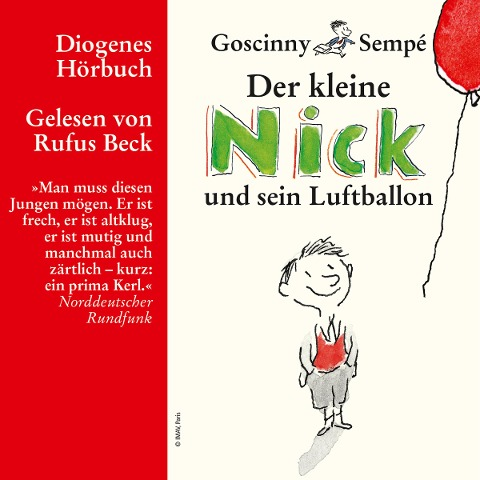 Der kleine Nick und sein Luftballon - René Goscinny