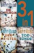 Rizzoli & Isles Band 1-3: - Die Chirurgin / Der Meister / Todsünde (3in1-Bundle) - Tess Gerritsen