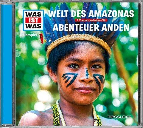 WAS IST WAS Hörspiel-CD: Welt des Amazonas/ Abenteuer Anden - Manfred Baur