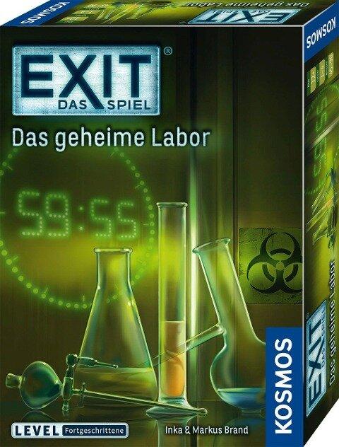 Exit - Das geheime Labor - Inka Brand, Markus Brand