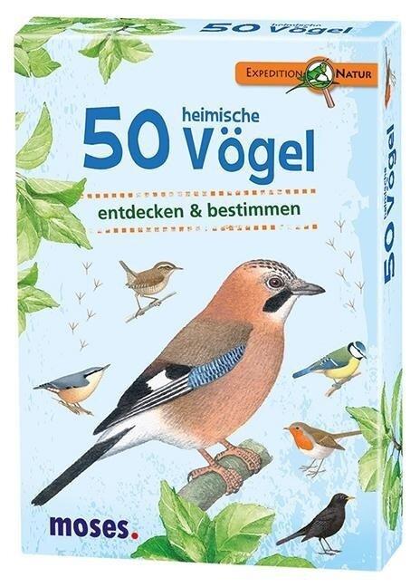 Expedition Natur. 50 heimische Vögel -