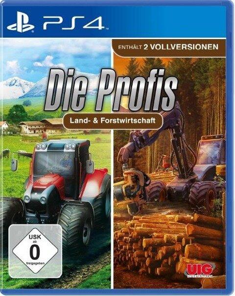 Profis Land- & Forstwirtschaft. PlayStation PS4 -
