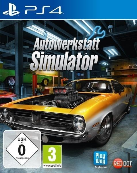 Autowerkstatt Simulator (PlayStation PS4) -
