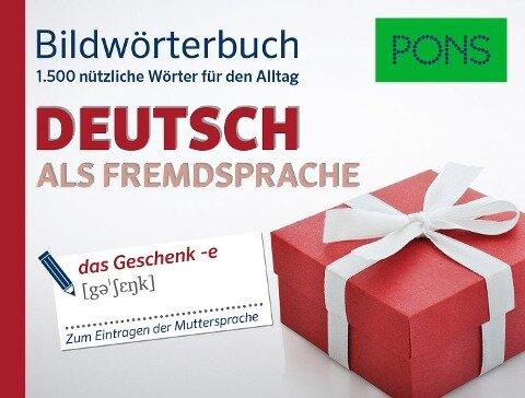 PONS Bildwörterbuch Deutsch als Fremdsprache -