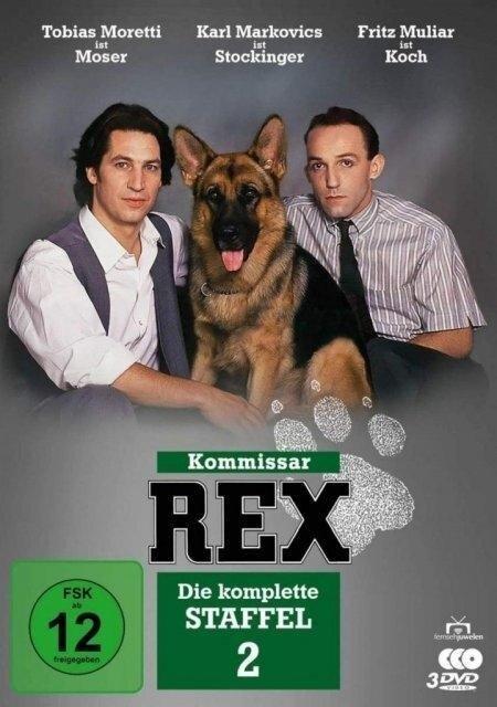Kommissar Rex - Die komplette 2. Staffel. 3 DVDs -