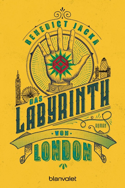 Das Labyrinth von London - Benedict Jacka