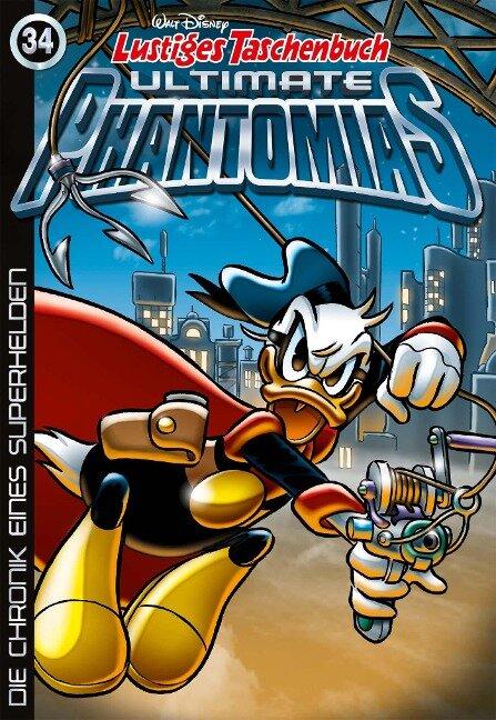 Lustiges Taschenbuch Ultimate Phantomias 34 - Walt Disney