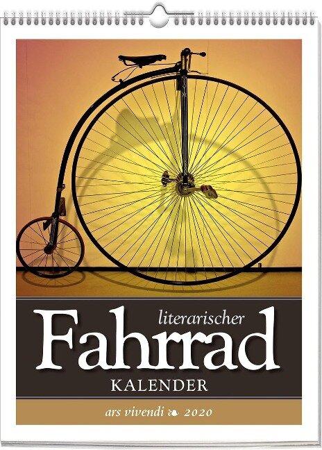 Literarischer Fahrradkalender 2020