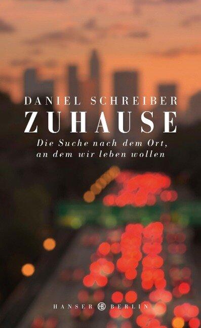 Zuhause - Daniel Schreiber