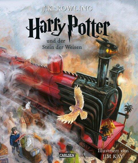 Harry Potter 1 und der Stein der Weisen. Schmuckausgabe - Joanne K. Rowling