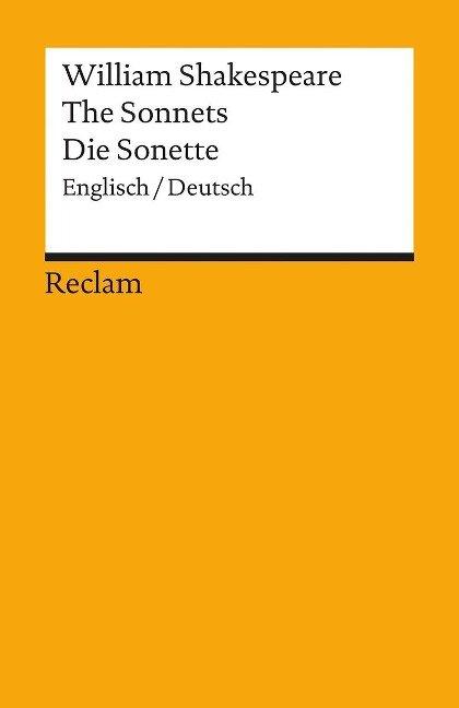 Die Sonette / The Sonnets - William Shakespeare