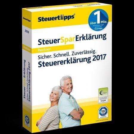 SteuerSparErklärung für Rentner & Pensionäre 2018 (FFP). CD-ROM -