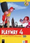 Playway ab Klasse 3. 4.Schuljahr. Activity Book mit Audio-CD und CD-ROM . Ausgabe 2013 -
