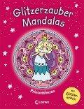 Glitzerzauber-Mandalas - Prinzessinnen -