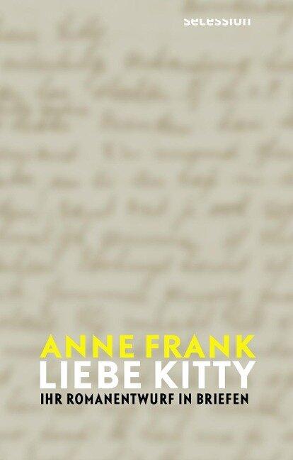 Liebe Kitty - Anne Frank