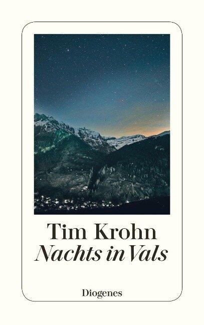 Nachts in Vals - Tim Krohn