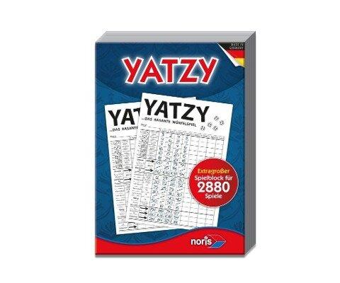 Knubbel Yatzy - extra großer Spielblock -