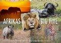 Emotionale Momente: Afrikas Big Five (Wandkalender 2017 DIN A3 quer) - Ingo Gerlach Gdt