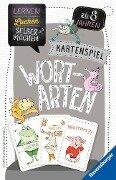 Kartenspiel Wortarten - Elke Spitznagel