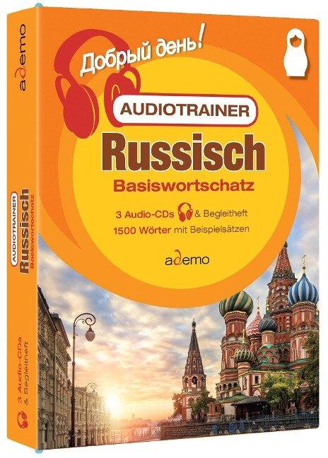 Audiotrainer Basiswortschatz Deutsch-Russisch Niveau A1 -