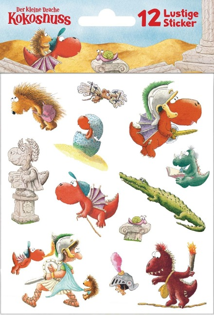 Der kleine Drache Kokosnuss - Sticker -