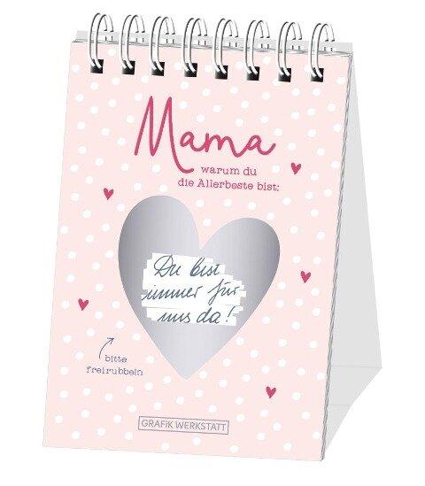 """Rubbel-Tischkalender """"Mama"""" (nicht jahresgebunden) -"""