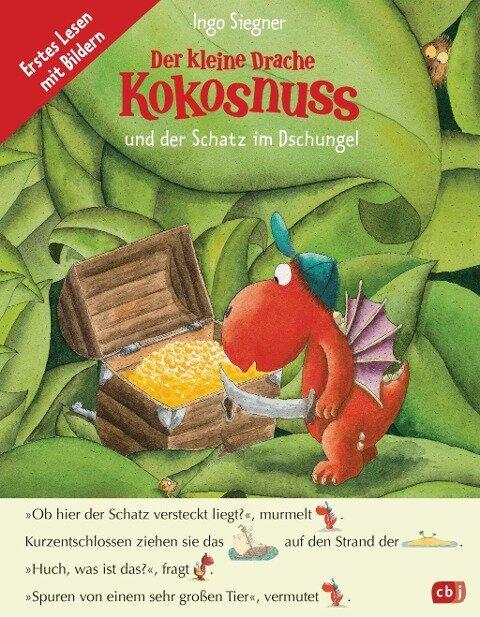 Der kleine Drache Kokosnuss und der Schatz im Dschungel - Ein Abenteuer im Fibelprinzip - Ingo Siegner