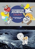 Stickerbomb Journal. Galaxy -