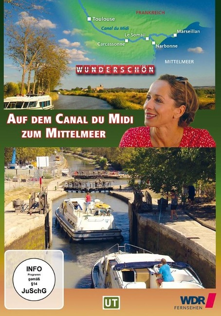 Auf dem Canal du Midi zum Mittelmeer - Wunderschön Frankreich! -