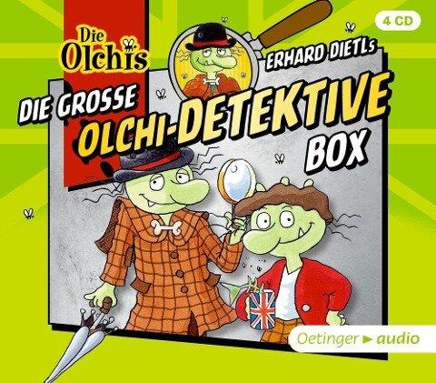 Die große Olchi-Detektive-Box (4CD) - Erhard Dietl, Barbara Iland-Olschewski, Markus Langer