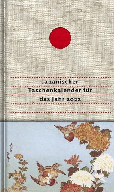 Japanischer Taschenkalender für das Jahr 2022 -