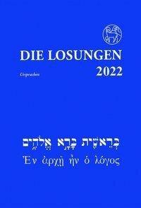 Die Losungen in der Ursprache 2022 -