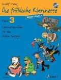 Die fröhliche Klarinette Band 3. Lehrbuch mit CD. - Rudolf Mauz