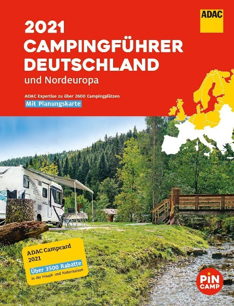 ADAC Camping-Führer Deutschland/Nordeuropa 2021 -