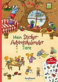 Mein Sticker-Adventskalender - Klara Kamlah