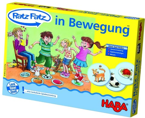 Ratz-Fatz in Bewegung -